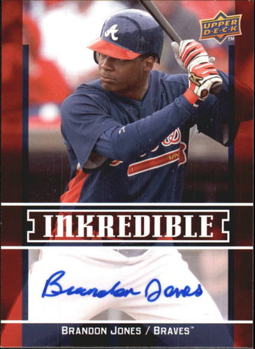 Photo of 2009 Upper Deck Inkredible #BR Brandon Jones S2