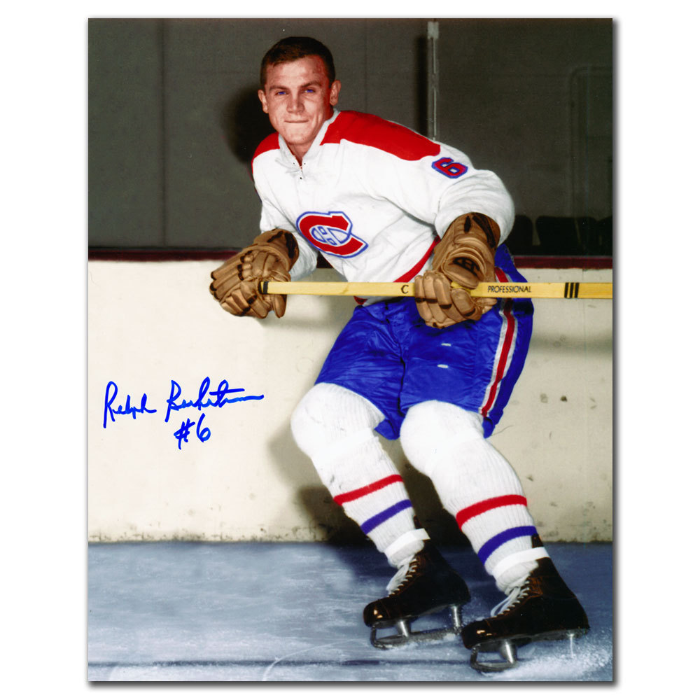 Ralph Backstrom Montreal Canadiens Autographed 8x10