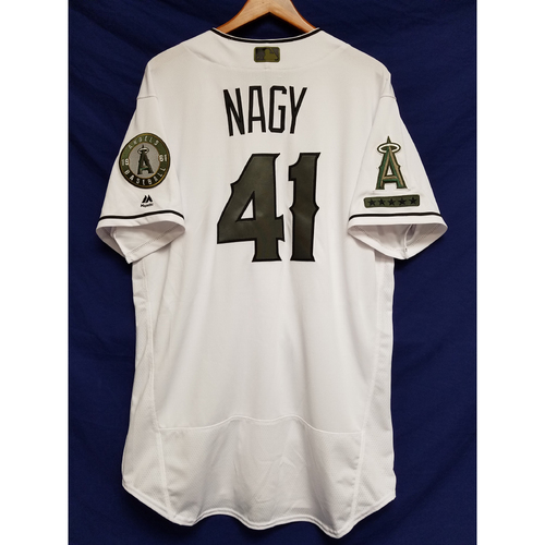 Photo of Charles Nagy 2017 Team-Issued Home Memorial Day Jersey
