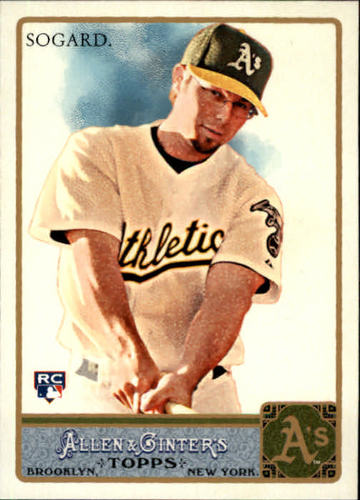 Photo of 2011 Topps Allen and Ginter #36 Eric Sogard RC