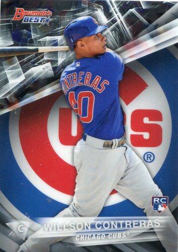 Photo of 2016 Bowman's Best #51 Willson Contreras Rookie Card Cubs post-season