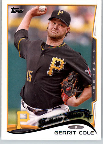 Photo of 2014 Topps #179A Gerrit Cole FS