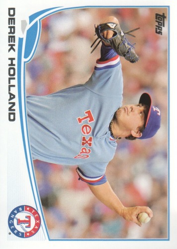 Photo of 2013 Topps #591 Derek Holland