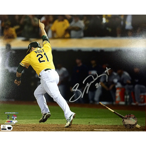 Photo of Stephen Vogt Autographed ALDS Photo