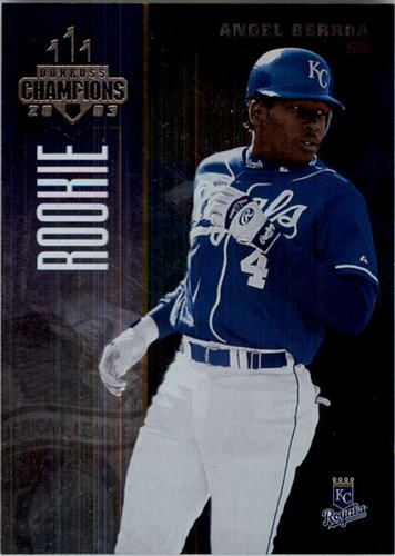 Photo of 2003 Donruss Champions Metalized #126 Angel Berroa