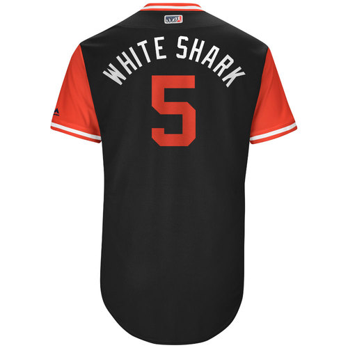 "Photo of Gregor ""White Shark"" Blanco Arizona Diamondbacks Game-Used Players Weekend Jersey"