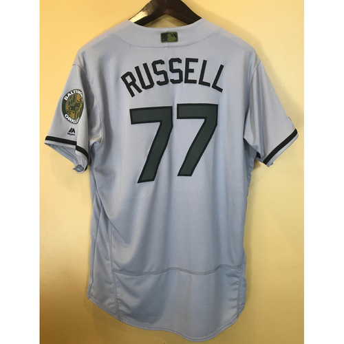 Photo of John Russell - 2017 Memorial Day Road Jersey: Game-Used