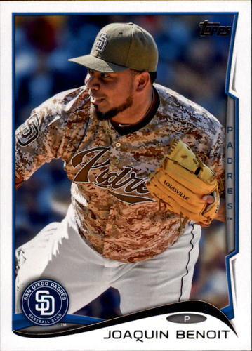 Photo of 2014 Topps Update #US326A Joaquin Benoit