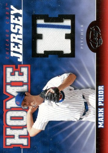 Photo of 2005 Leaf Home/Road Jersey #9H Mark Prior H