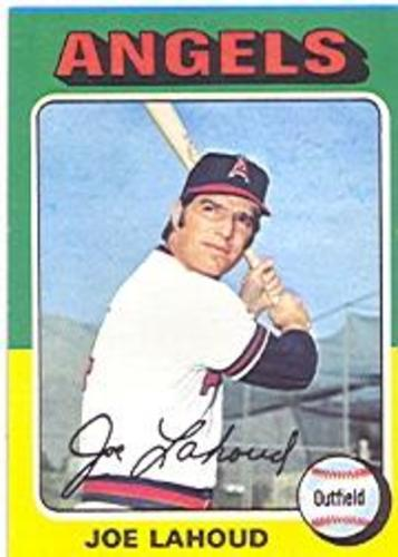 Photo of 1975 Topps #317 Joe Lahoud