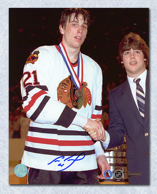 Cam Neely Portland Winter Hawks Autographed CHL Memorial Cup 8x10 Photo