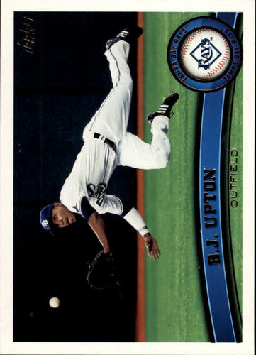 Photo of 2011 Topps #556 B.J. Upton