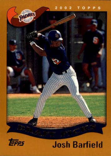 Photo of 2002 Topps #693 Josh Barfield DP RC