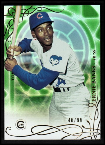 Photo of 2015 Topps Tribute Green #24 Ernie Banks