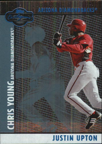 Photo of 2008 Topps Co-Signers Silver Blue #59b Justin Upton/Chris Young