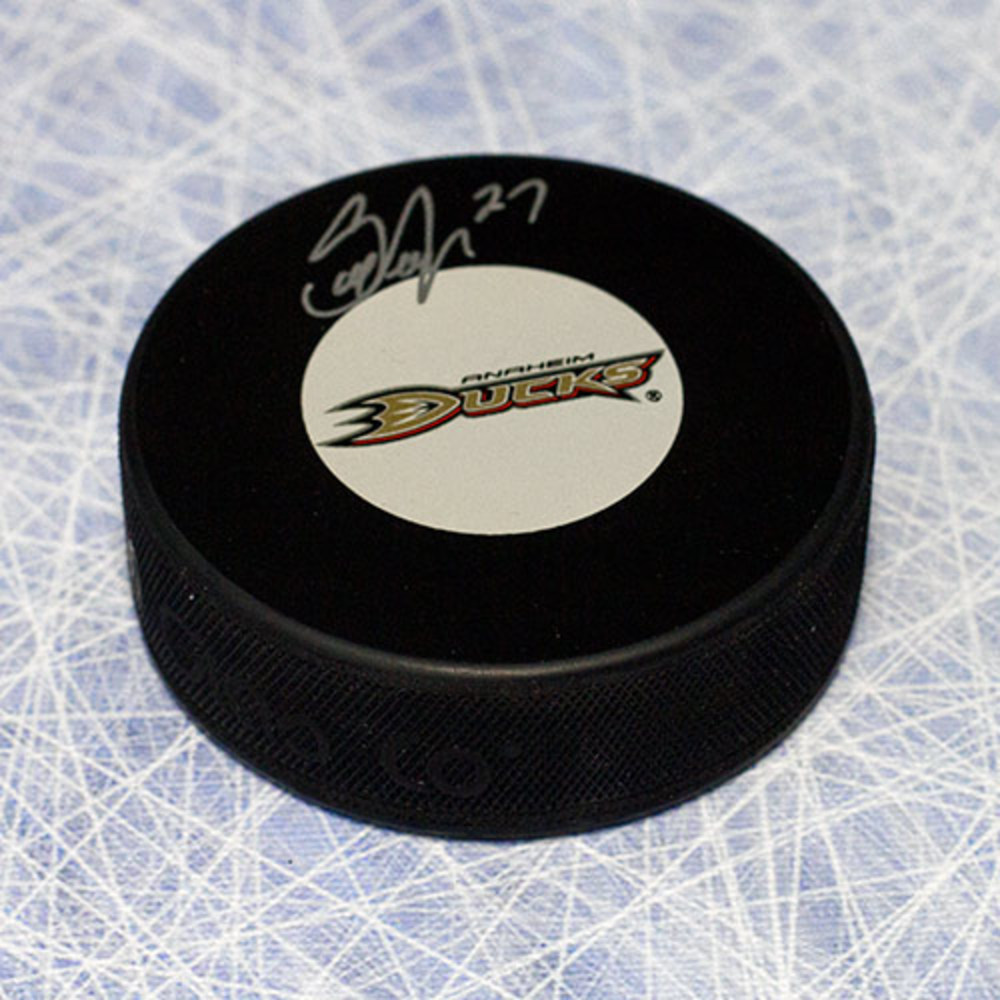 Scott Niedermayer Anaheim Ducks Autographed Hockey Puck
