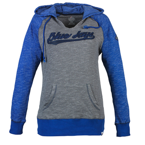 Toronto Blue Jays Women's Absolute Confidence Hoody by Majestic