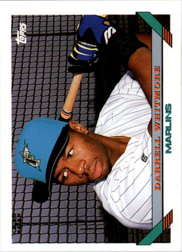 Photo of 1993 Topps #697 Darrell Whitmore RC