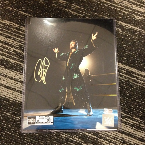 Photo of Bobby Roode SIGNED 8 x 10 Limited Edition WrestleMania 33 Photo (#1 of 33)