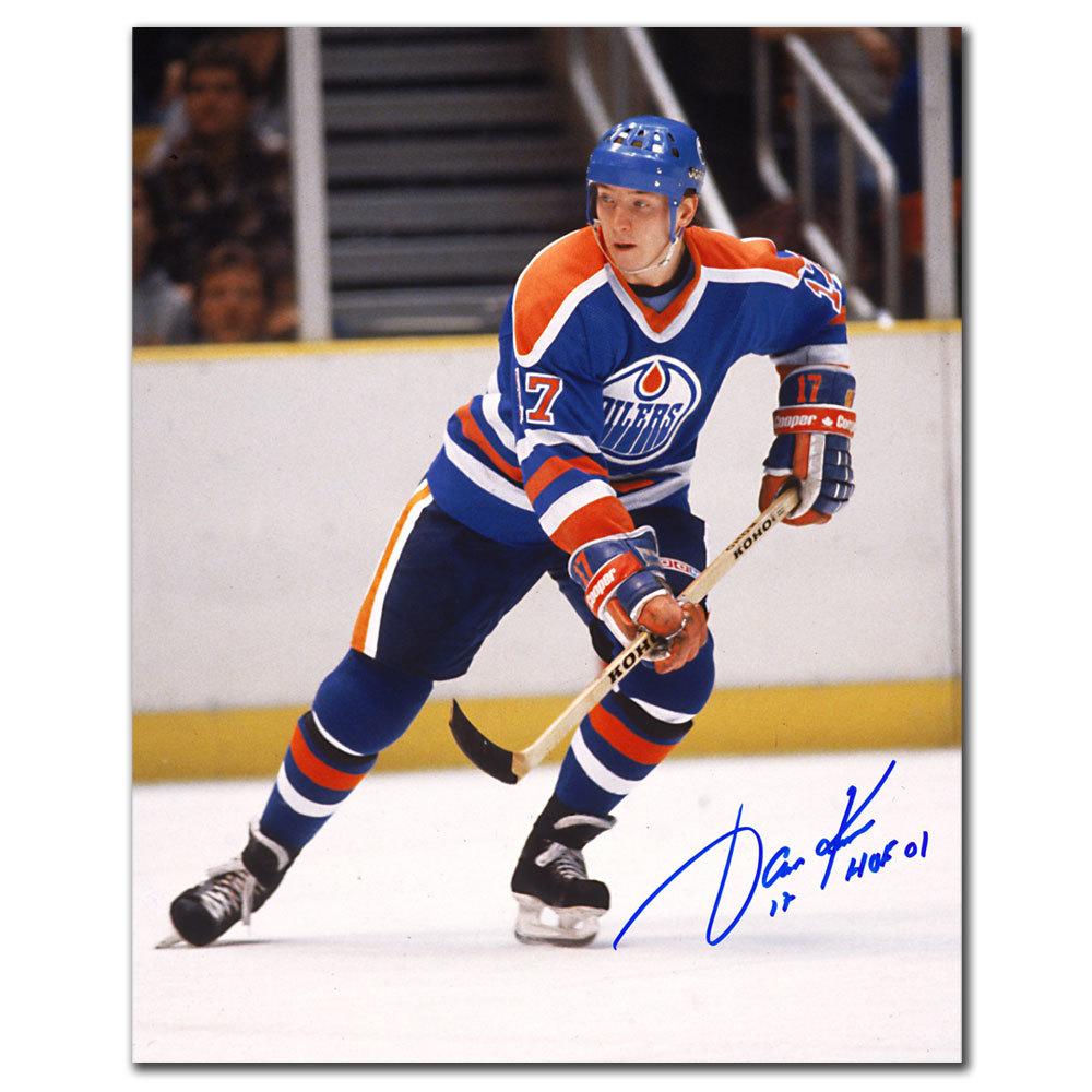 Jari Kurri Edmonton Oilers Playmaker Autographed 8x10