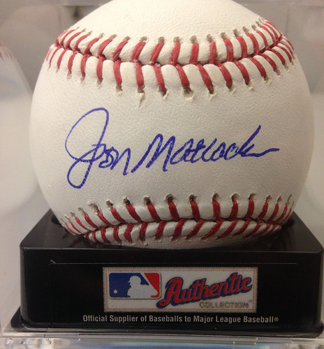 Photo of Baseball Assistance Team: Jon Matlock Autographed Baseball