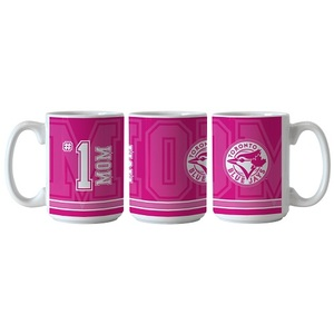 Toronto Blue Jays #1 Mom Coffee Mug by Boelter Brands