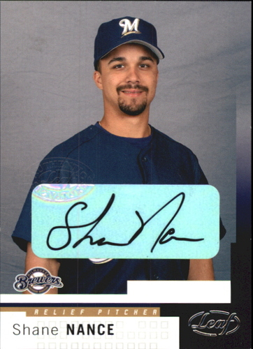 Photo of 2004 Leaf Autographs #155 Shane Nance