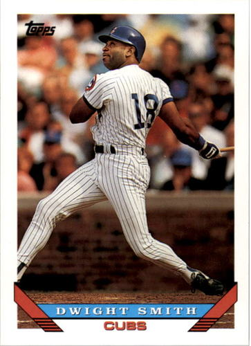 Photo of 1993 Topps #688 Dwight Smith
