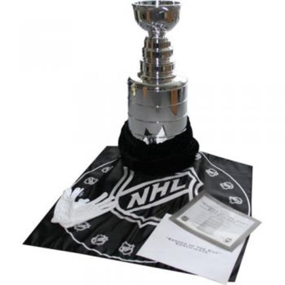 2' Replica Stanley Cup Complete w/Keeper of the Cup Certificate & More