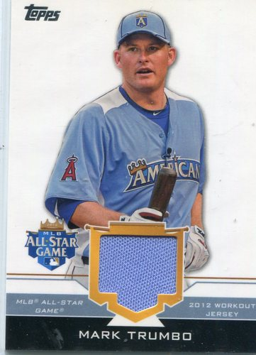 Photo of 2012 Topps Update All-Star Stitches #MAT Mark Trumbo