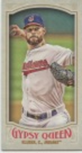 Photo of 2016 Topps Gypsy Queen Mini #145 Corey Kluber
