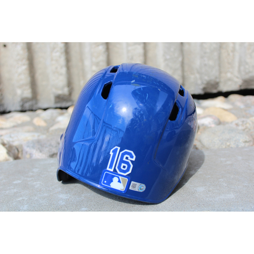 Photo of Game-Used Helmet: Paulo Orlando (Size 7 - ARI at KC - 10/1/17)