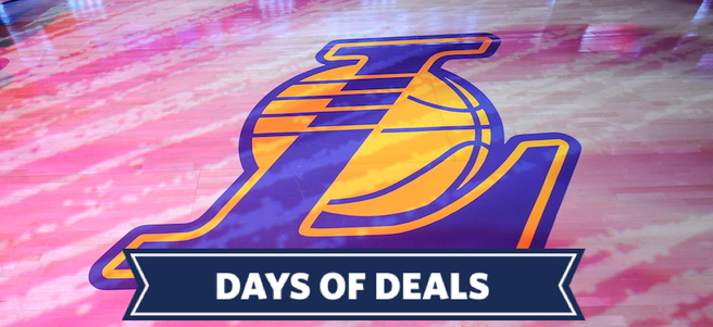 LOS ANGELES LAKERS BASKETBALL GAME: 1/4 LAKERS VS. NEW YORK KNICKS (2 LOWER LEVEL ...