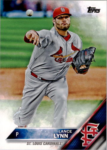 Photo of 2016 Topps #217 Lance Lynn