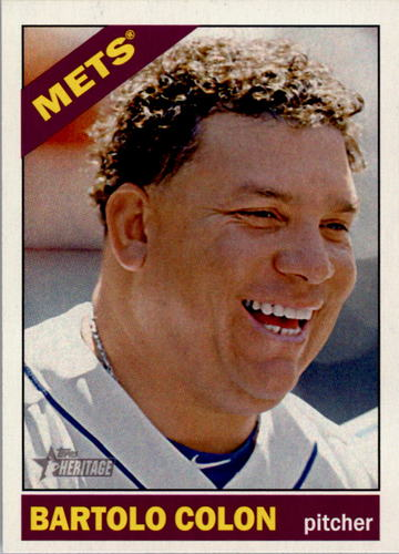 Photo of 2015 Topps Heritage #185 Bartolo Colon