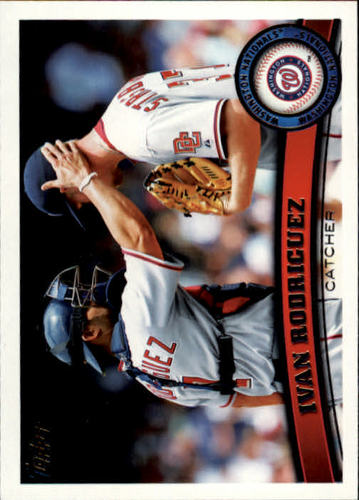 Photo of 2011 Topps #360 Ivan Rodriguez