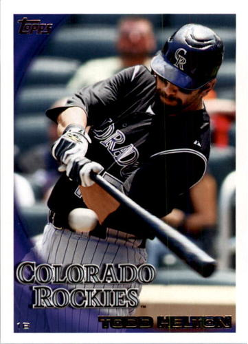 Photo of 2010 Topps #509A Todd Helton