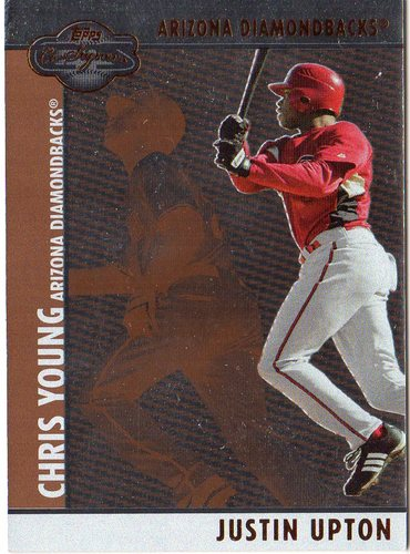 Photo of 2008 Topps Co-Signers Silver Bronze #59b Justin Upton/Chris Young