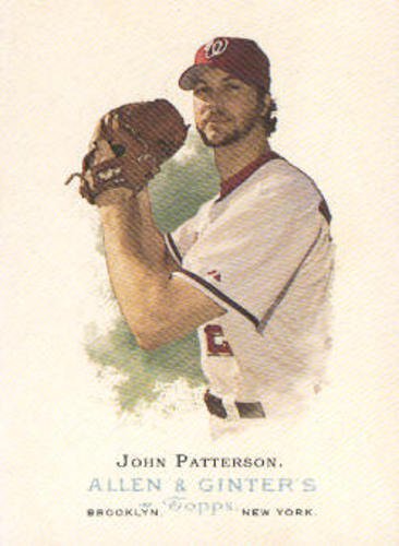 Photo of 2006 Topps Allen and Ginter #142 John Patterson