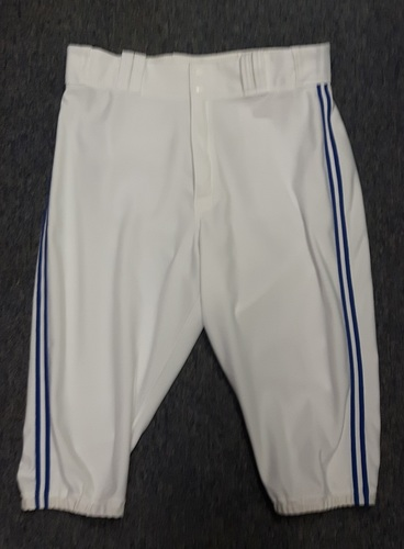 Authenticated Team Issued White Pants - #27 Brett Cecil (2015 Season). Size 37-42 16.