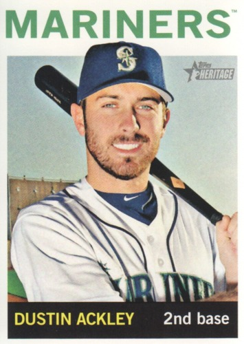 Photo of 2013 Topps Heritage #166 Dustin Ackley