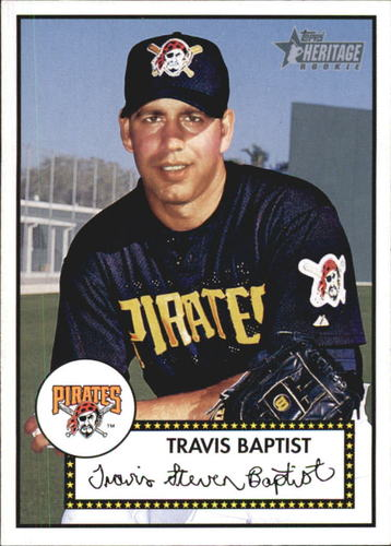 Photo of 2001 Topps Heritage #302 Travis Baptist RC