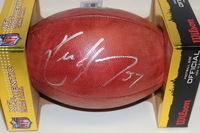 NFL - CARDINALS KEN HARVEY SIGNED AUTHENTIC FOOTBALL