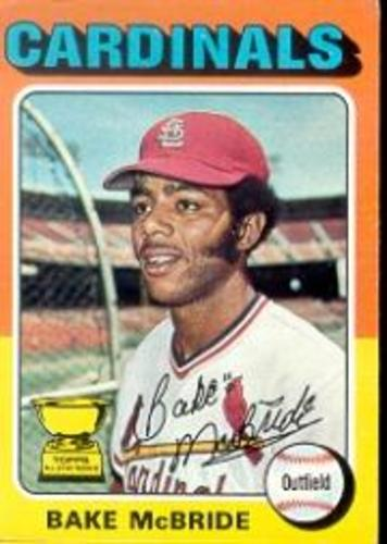 Photo of 1975 Topps #174 Bake McBride