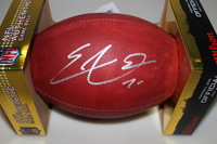 BILLS - ERIC WOOD SIGNED AUTHENTIC FOOTBALL