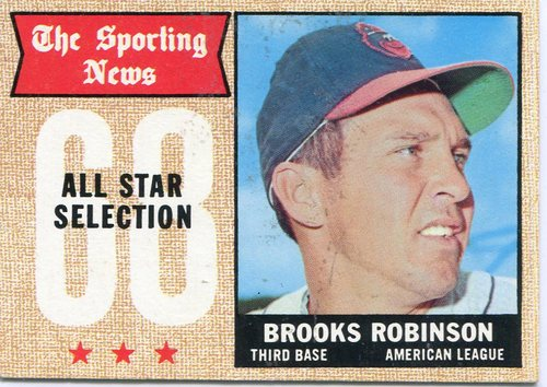 Photo of 1968 Topps #365 Brooks Robinson All Star