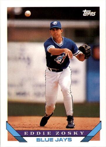 Photo of 1993 Topps #689 Eddie Zosky