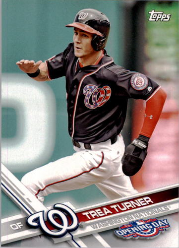 Photo of 2017 Topps Opening Day #129A Trea Turner