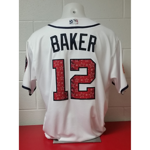Photo of Game-Used Jersey: Dusty Baker
