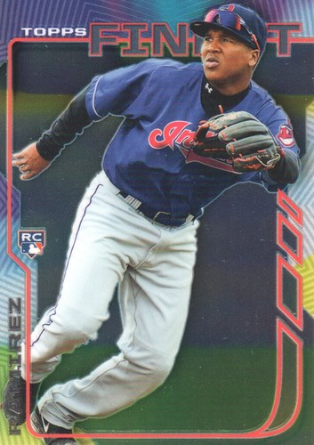 Photo of 2014 Finest #81 Jose Ramirez Rookie Card -- Indians post-season